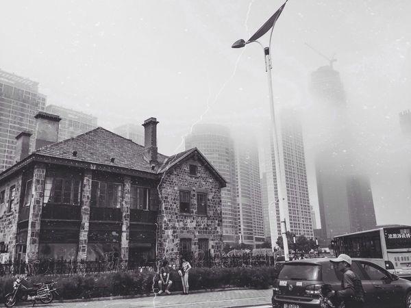 City VSCO IPhone Black And White
