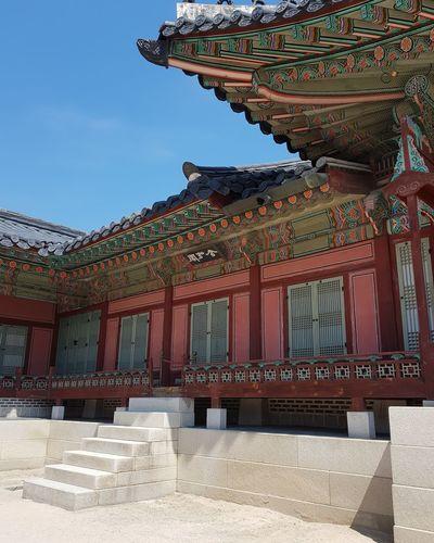 Gyeongbokgung Palace Gyeongbokgung Palace, Seoul Joseon Dynasty 1392 -1897 Five Centuries Palace Architecture Seoul Architecture Architecture Tripwithson2017 Tripwithsonmay2017 Seoul Southkorea