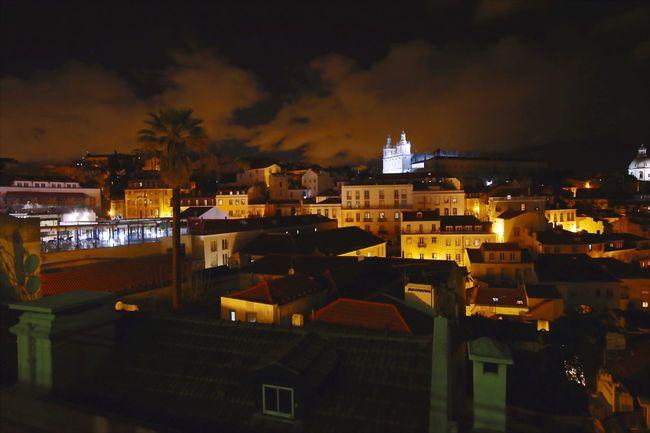 Boa Tarde! Saudades Lisbon Night Light And Shadow