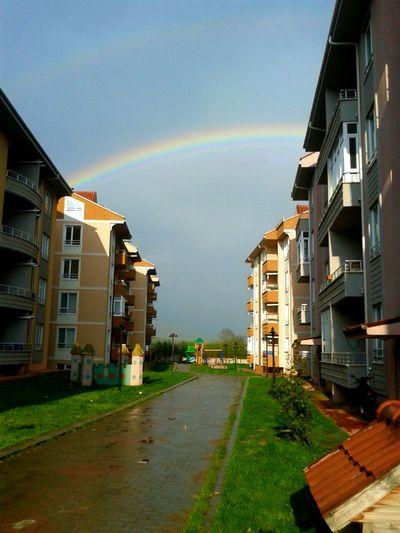 Yağmur Gunes Gökkuşağı Site Düzce Hava Ilkbahar