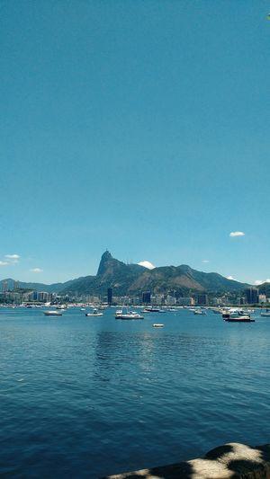 Rio De Janeiro Urca Baia Da Guanabara Brasil Brazil Sky Blue Sea Water Outdoors Beach Sailboat