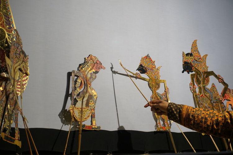 Puppet Objects Stage Tradition Wayang Art Yogyakarta Art Perfomace Puppet Traditional Wayang Wayang Kulit