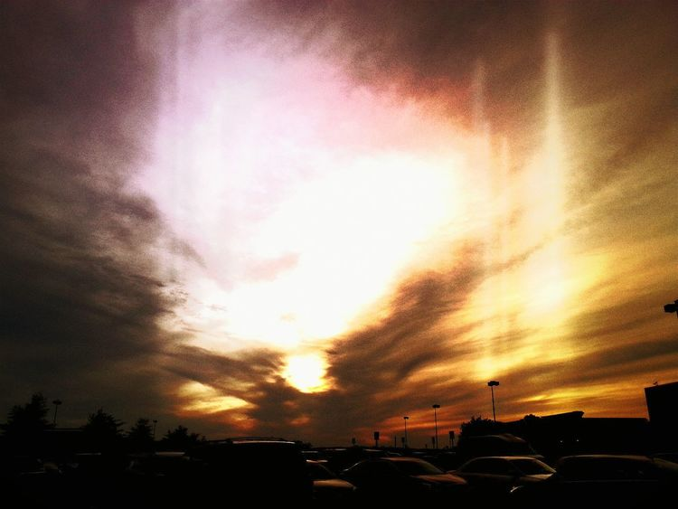 Shift App Parking Lot In The Parking Lot Parking Lot Art Clouds Clouds And Sky Cloud Sky Sky_collection Sky And Clouds