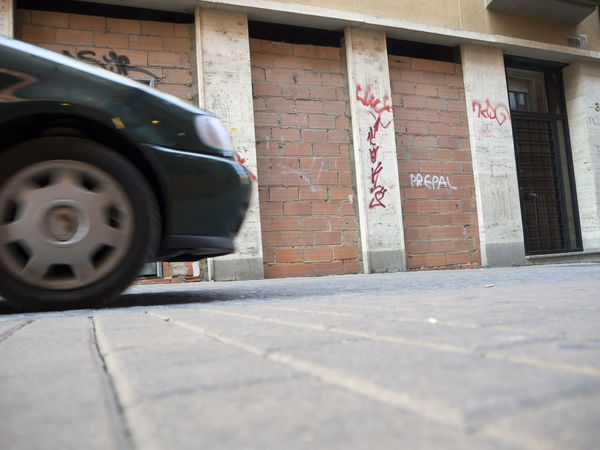 Car City Alley City Life Driving Car LeonEsp  Motion Blur Narrow Alley Surface Level Transportation