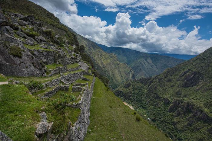 Inca City Inca Ruins Macchu Picchu Outdoors Peru Peru Traveling Peruvian Sky And Clouds South America