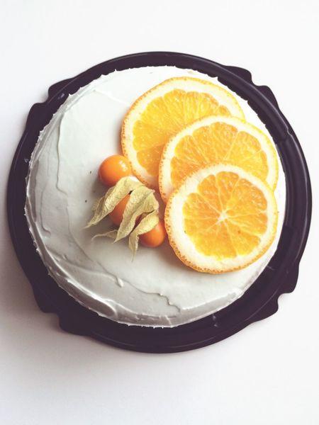 Апельсиновый торт с мятным кремом. Homebaker Home Bakery Orange Cake Homecake First Eyeem Photo
