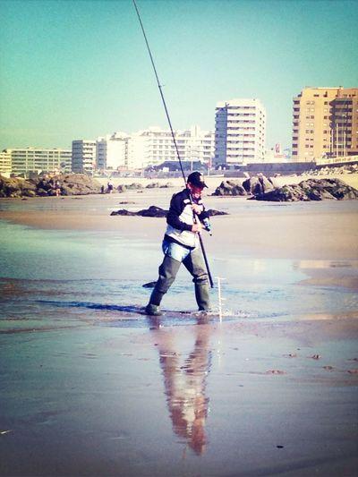 Fishing...! EyeEm Porto Enjoying The Sun