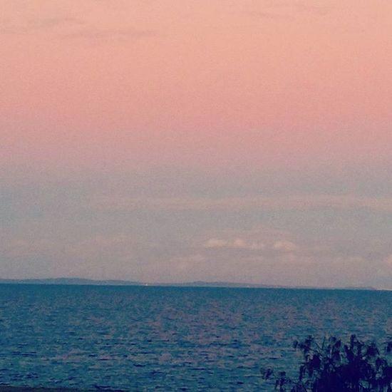 Sunset tonight Redcliffeseaside Watersideliving