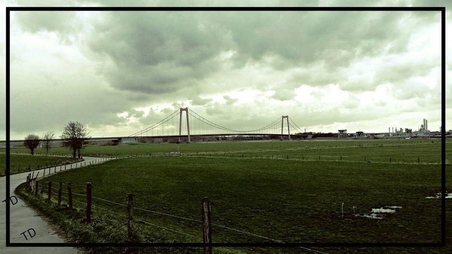 Storm Clouds Bridge Closed  Storm Martch 2015 EyeEm Best Shots