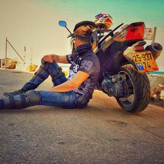 Israel Traveling Tmax Motorcycle Sky Agv Urban