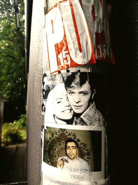 Check This Out Street Photography Art Streetart David Bowie Discovery Street Art Hello World Bowie Berlin Rip Blackstar Rip David Bowie Heroes Ground Control To Major Tom Major Tom Ziggystardust Notes From Berlin