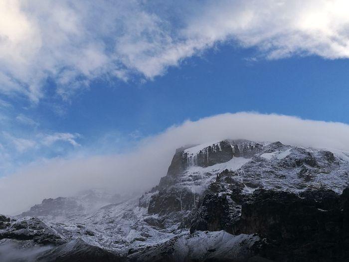 Glaciers Melt Tanzania Kilimanjaro Hikingadventures Mountains