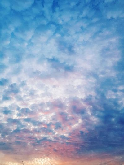 Cotton candy skies Clouds And Sky Cloudchasers Cloudsporn Sky Only Colours Colour Gradient Gradiented Sky Cloudscape Beauty In Nature Backgrounds Scenics Full Frame Low Angle View Majestic Idyllic Atmospheric Mood Tranquil Scene Gradien