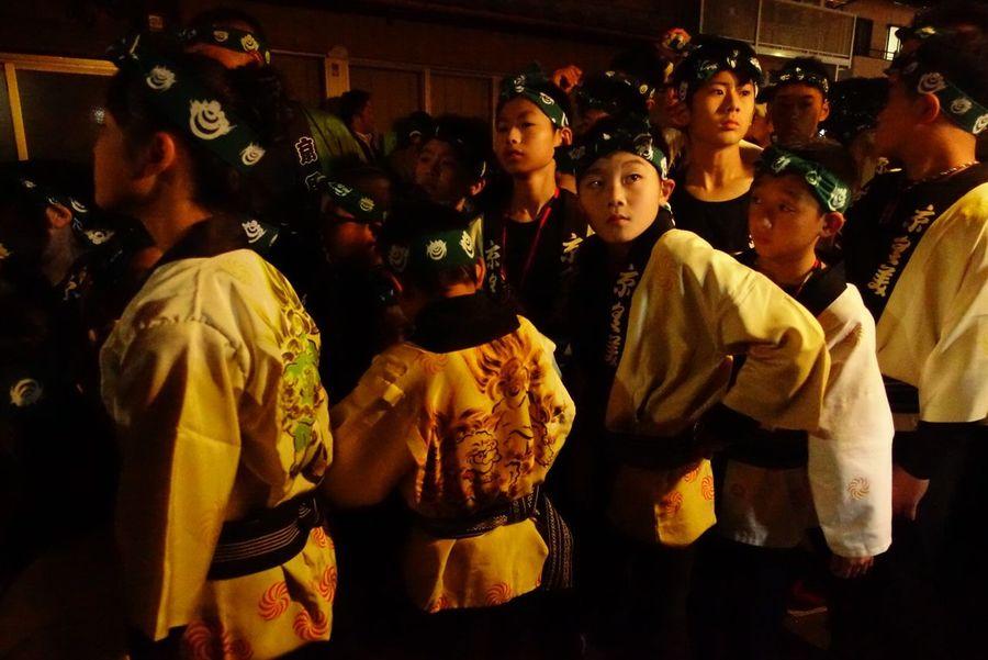 People Karatsukunchi Festival Matsuri 祭 唐津くんち