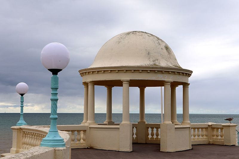 De La Warr Pavilion - Bexhill-On-Sea EyeEm Selects Sky Architecture Water Built Structure Sea Land Architectural Column Horizon Over Water Outdoors Travel Nature Travel Destinations Building Exterior Beach Cloud - Sky Tourism Day Dome No People Scenics - Nature