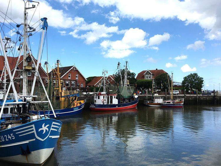 Hafen Neuharlingersiel Nordsee...