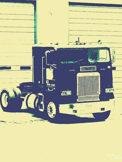 Truck Vintage Truck Freightliner