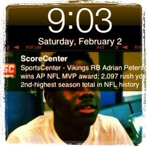 Adrian Peterson AP MVP