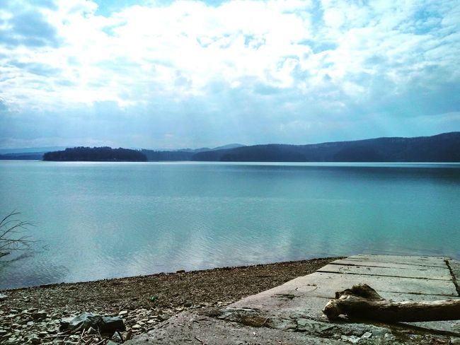 SolinaPoland Solina Piękna_pogoda Beautiful Nature Beautiful Weather♡ Water Sky Mountains
