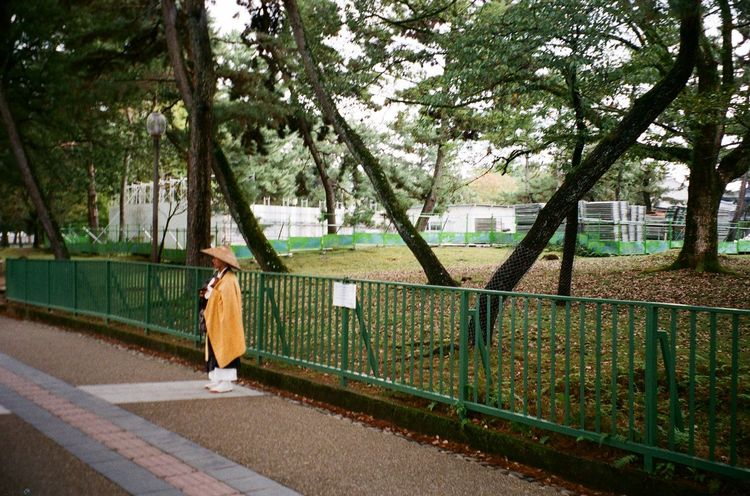 monk Monk  EyeEmNewHere Travel Destinations Nara,Japan Analog Photography Olympus Mju Kodakgold200 The Traveler - 2018 EyeEm Awards The Street Photographer - 2018 EyeEm Awards Streetphotography Traditional Tree Sky Architecture Built Structure