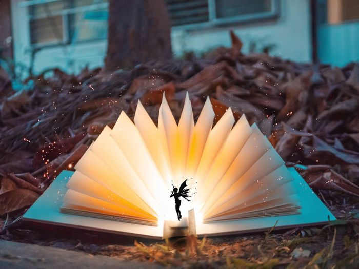 she walking on air Faitytales Beautiful Dream White Boken Love Yellow Light Light And Shadow Book Capture Tomorrow Feeling Magic Magic Moments Magical Fairy Lights Yellow Color Colors Art Fairy Unicorn Forked Lightning