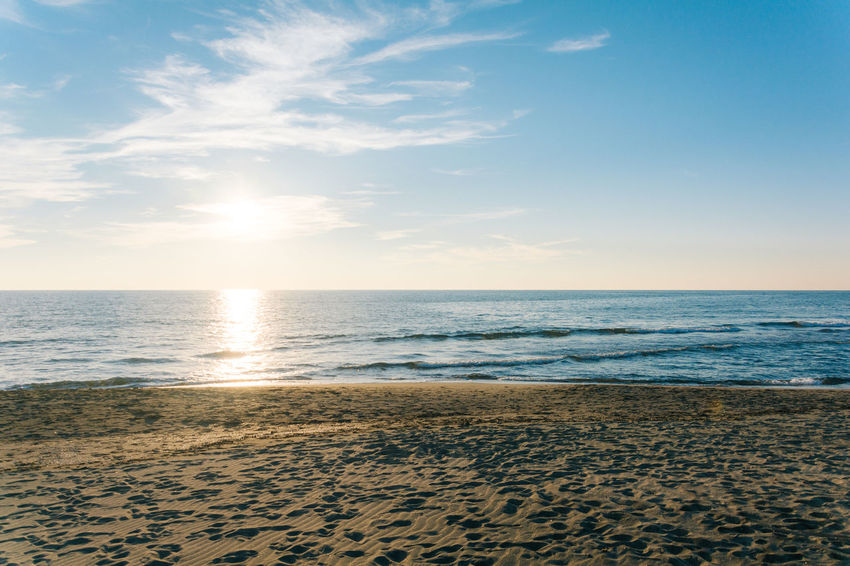 Somehow empty Beach Beauty In Nature Day Horizon Over Water Nature Nikonphotography No People Outdoors Sand Scenics Sea Sky Summer Sunlight Vscofilm Water