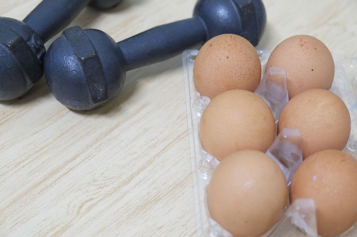 dumbbell Dumbbell Dumbbells Egg Eggs Eggs... Food Food And Drink Freshness Healthy Eating Healthy Food Healthy Lifestyle