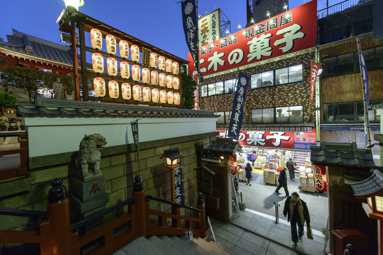 Ameyayokocho Architecture City Full Length Illuminated Japan Japanese Culture Large Group Of People Neon Night Outdoors People Place Of Worship Tokyo Travel Destinations