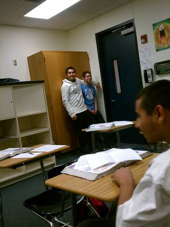 They locked Dave in the closet hahahaha ~Good Times Im Class~