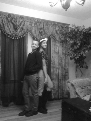 That me and My cousin Kayla having the best Christmas Eve