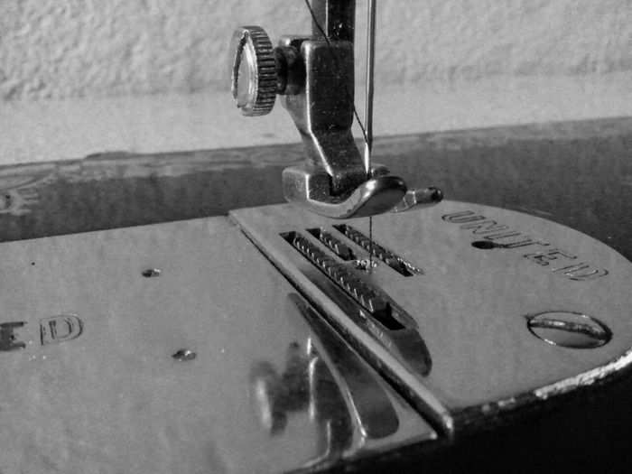 Tailored To You Stitching Machine Thread Needle Old Model Vintage Vintage Machine Black And White Steel Screw Stitch Mymobilephotography Mobile Photography Machinery Machine Part Antique Fine Art Photography Showcase July