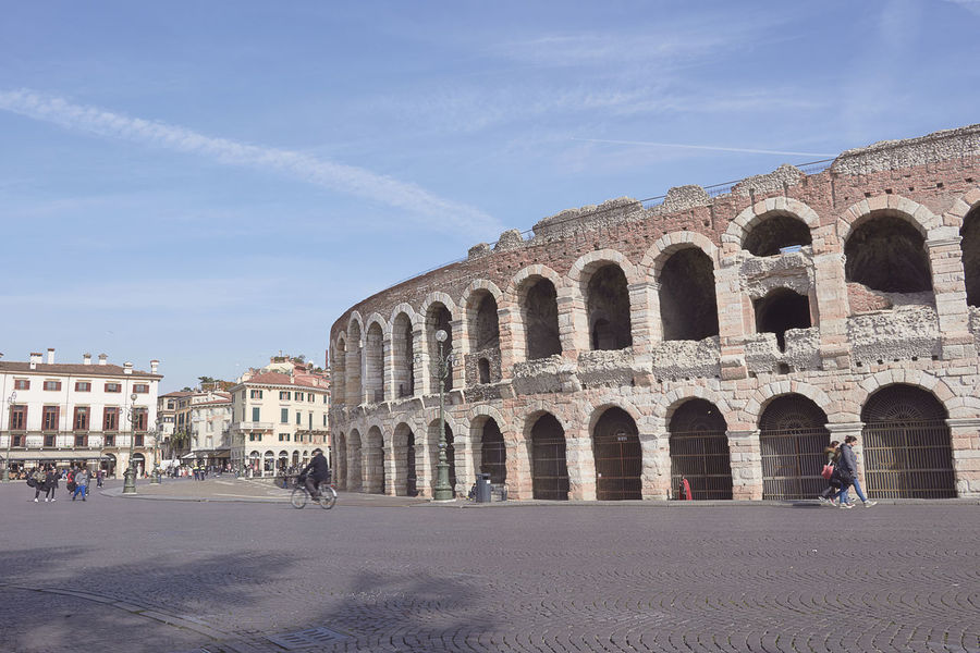 Ancient Ancient Civilization Arch Architecture Arena Arena Di Verona, Italy Building Exterior Built Structure Church Culture Façade Famous Place Historic History Old Outdoors Place Of Worship Religion Roman Travel Destinations Pastel Power