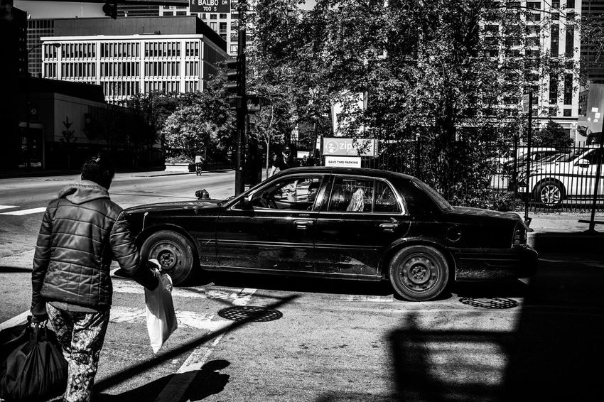 Black And White Blakandwhite Car Chicago Digital Illinois MidWest Photography Street Street Photography Stroll U.S.A United States People And Places