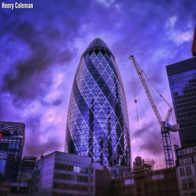 """""""The World Famous Gherkin with an Ultra Glossy Edit and moody Tones!"""" London London_only Londonpop Udog_edit Ig_europe Global_stars Ig_photolove Igerslondon Udog_peopleandplaces Icu_britain Click_london The_photographers_emporium"""