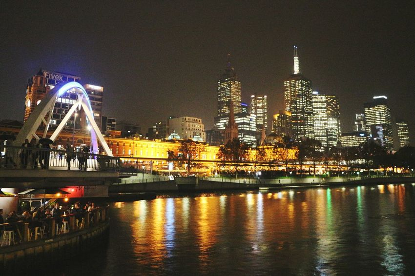 Nothing is better than taking a stroll along Yarra River in Melbourne