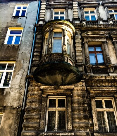 Występek Stary Budynek Okna Kamienica Architecture Building Exterior Built Structure Building Low Angle View Window No People Day Old