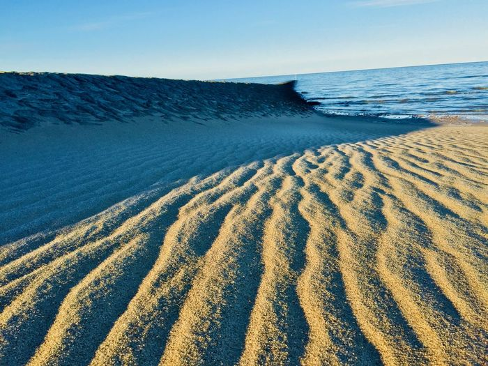 Beach Beachphotography Beauty In Nature Clear Sky Day Environment Horizon Horizon Over Water Land Landscape Light And Shadow Nature No People Northsea Outdoors Sand Scenics - Nature Sea Sky Tranquil Scene Tranquility Water The Great Outdoors - 2018 EyeEm Awards