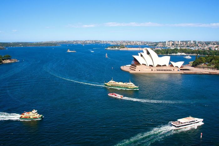 Exploring The City Sydney Harbour & Ships Outdoor Photography Operahouse Ferryboat Beautifulview Sydney Opera House Sydney Photography Sydneyoperahouse Sydney, Australia Australia Beautiful Day Boats Boats And Water From My Point Of View Harbour Cruise
