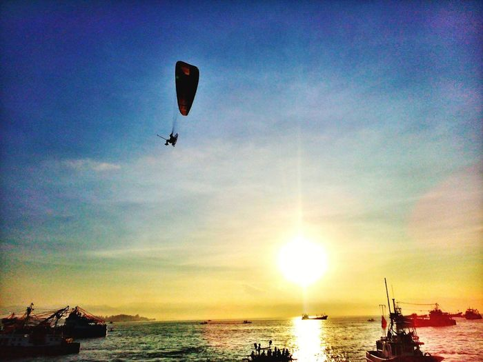Live For The Story Sky Adventure Flying Cloud - Sky Beach Sea Sun