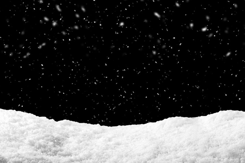 Snow on black background with snowfall. Snowdrift backdrop in winter season. Snow Cold Temperature Winter Night Beauty In Nature Nature Snowing No People Scenics - Nature White Color Sky Outdoors Storm Tranquility Covering Backgrounds Tranquil Scene Frozen Environment Blizzard Snowy Snowstorm Storm Backdrop Snowfall