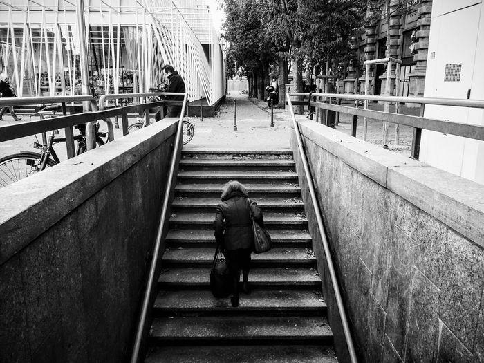 Full length of woman walking in park