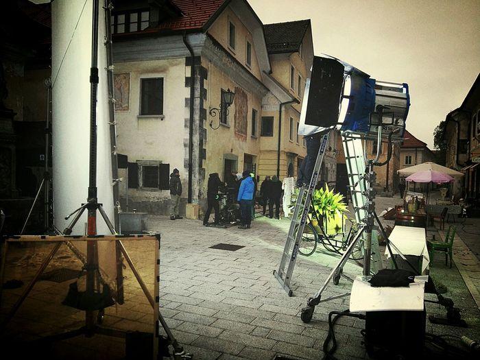 Shooting Commerical Slovenia Radovljica ARRI
