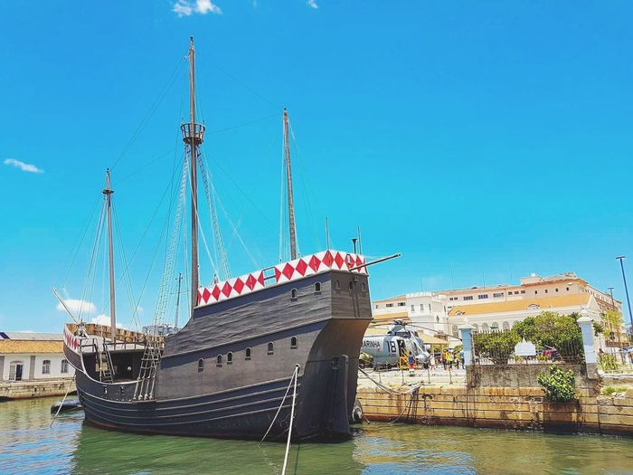 Ship Boat Day Daylight Sea Sky Pier Water Outdoors Marinha No People Sailing Ship S7 S7 Photography
