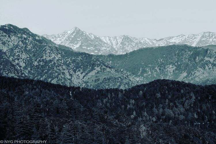 Mountain Tranquil Scene Landscape Mountain Range Nature Photography Dalhousie Snowcapped Mountain Dalh