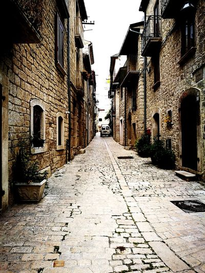 Oratino Ancient Building Postmedievalstreet Ruins Eighteenthcentury Returninthepast