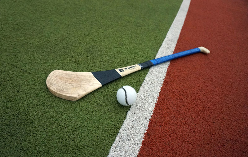 Astro Turf Ball And Stick Competitive Sport Field Sport Gaa Green Color Hurl Hurley  Hurling Iománaíocht Irish Sports No People Playing Field Sliotar Sport Sports Ball Sports Equipment Sports Photography Torpey