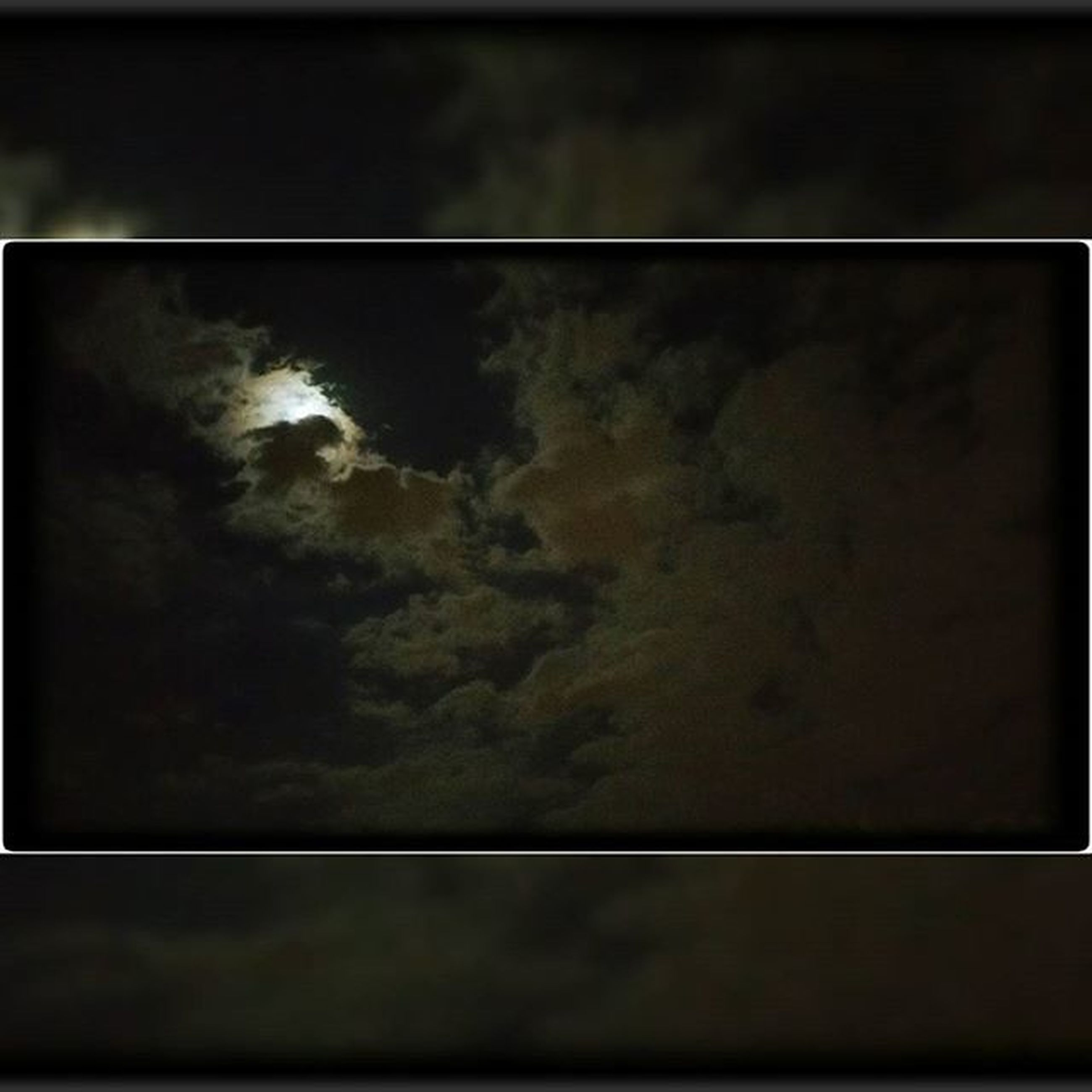 transfer print, sky, auto post production filter, cloud - sky, full frame, backgrounds, low angle view, cloudy, cloud, nature, indoors, no people, dark, beauty in nature, weather, overcast, dusk, night, scenics