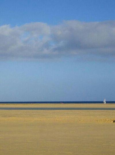 Playa de Sotavento (Fuerteventura, Spain) Beach Sea Fuerteventura Landscape