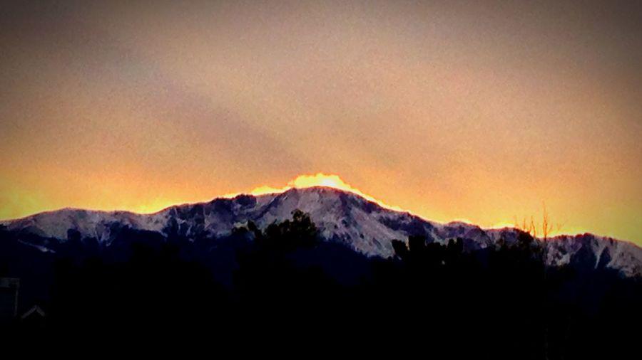 Random Shot of the Day... Mountain Glow.