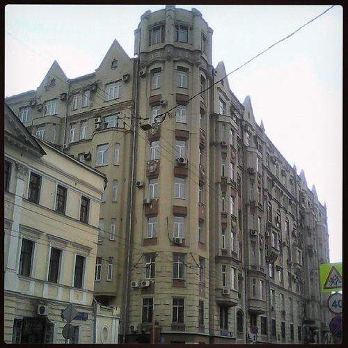 МосковскаяАрхитектура НоваяБасманная красота архитектура АрхитектураМосквы 💫💫